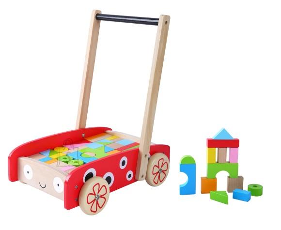Gerardo's Toys Käimistugi Lepatriinu 42klotsiga