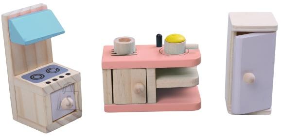 Gerardo's Toys Puidust nukumööbel Köök
