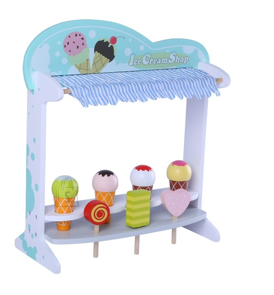 Gerardo's Toys Puidust Jäätisepood
