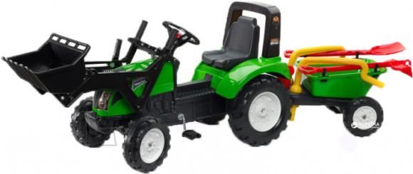 Falk Traktor Garden Master  käru ja tööriistadega