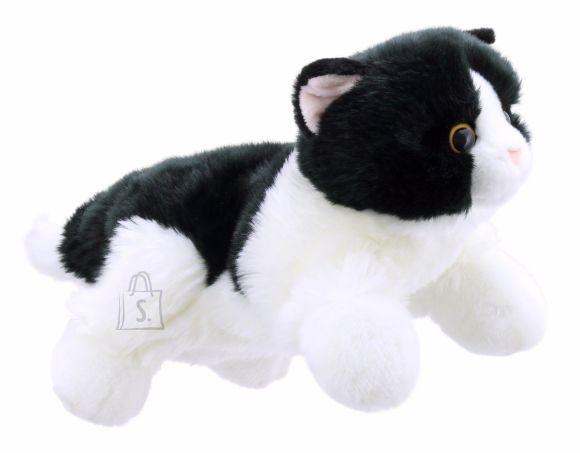 Käpikloom Kass kehaga must/valge