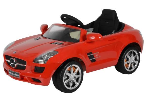 Chi Lok Elektriauto Mercedes Benz punane