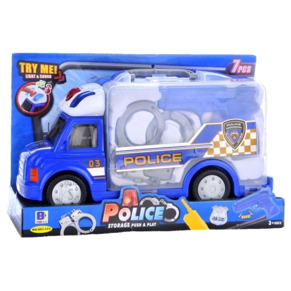 Politseiauto tarvikutega 7osa