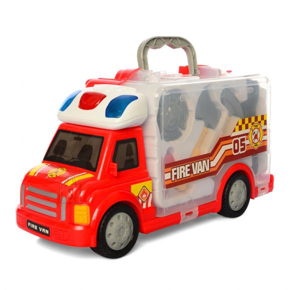 Tuletõrjeauto tarvikutega 8osa