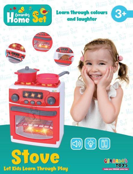 Gerardo's Toys Pliit/ahi heli ja valgusega