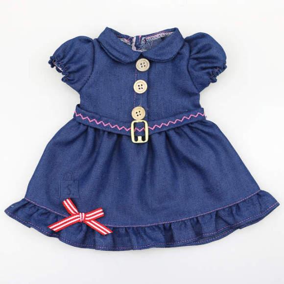 Gerardo's Toys Nuku kleit denim