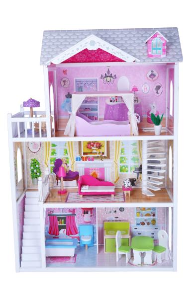 Gerardo's Toys Puidust nukumaja Sophia