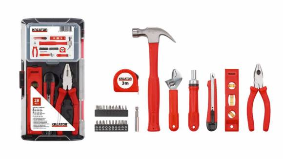 Tööriistakomplekt Kreator 28 osa.