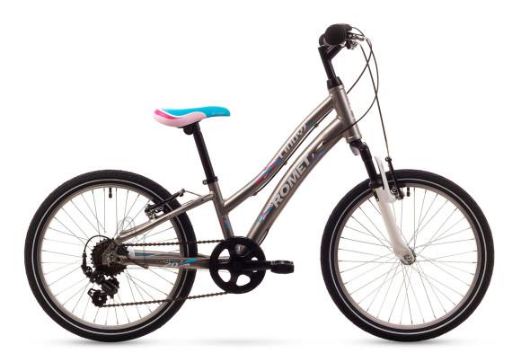 """Romet 20"""" tüdrukute jalgratas Cindy"""