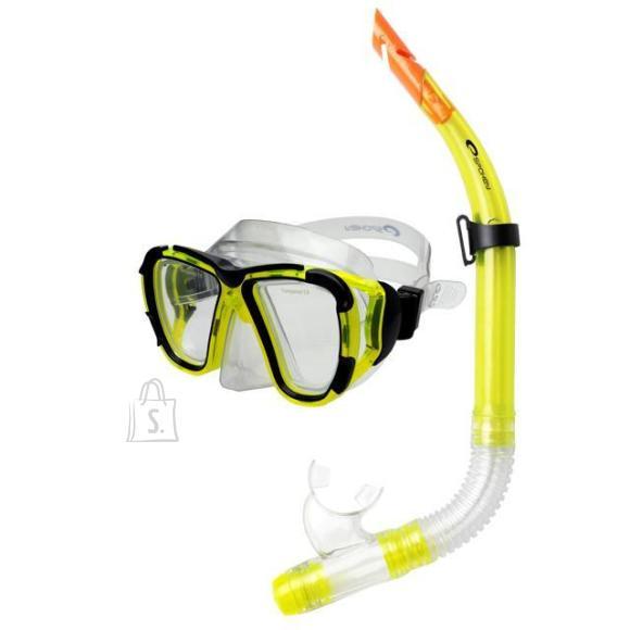 Spokey laste snorkeldamise komplekt Coral Junior