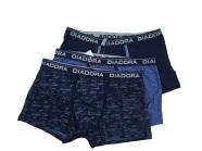 Diadora meeste bokserid - 3 tk karbis