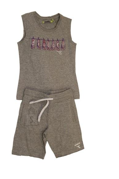 Diadora Tüdrukute top ja shortsid
