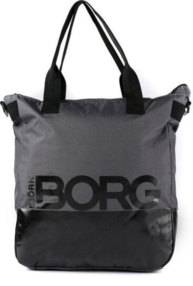 Björn Borg Jane Shopper Grey/Black 34.5x37x15