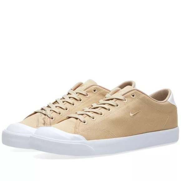Nike All Court 2 Low Cnvs Linen / Linen - White