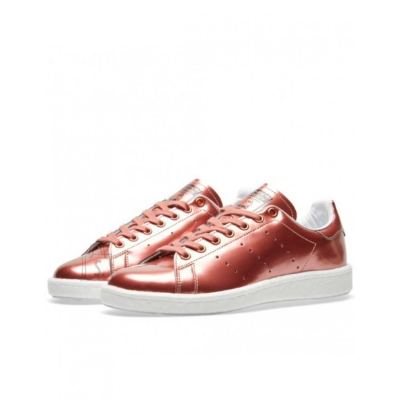 Adidas Stan Smith Boost Women Copper Metallic/Copper Metallic/White
