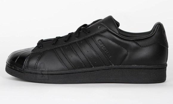 Adidas Originals SuperStar Glossy Toe Trainers Black