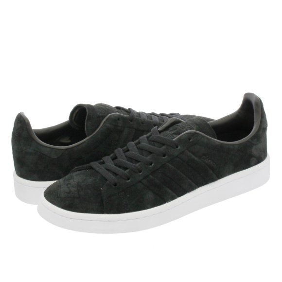 Adidas Adidas Originals Campus Stitch and Turn Trainers Black/White