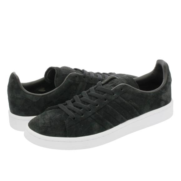 17337b7d4f7 Adidas Adidas Originals Campus Stitch and Turn Trainers Black/White