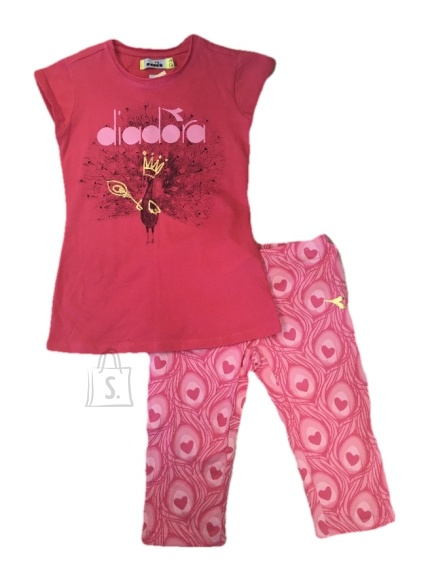 Diadora Tüdrukute kompl. t-särk+liibukad PV