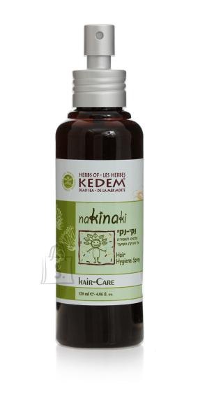 Herbs of Kedem NakiNaki lahus juuste hügieeniks (pedikuloosi vastu) 120 ml