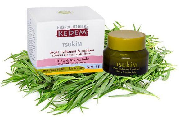 Herbs of Kedem Tsukim salv õrna silmaümbruse naha jaoks, päevakreemi asendaja 30 ml