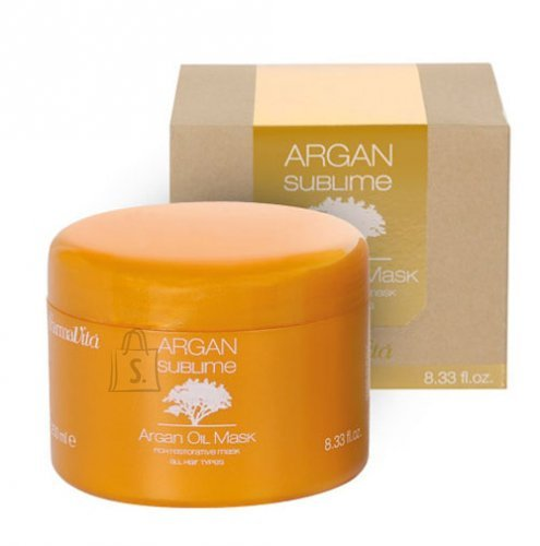 FarmaVita ARGAN SUBLIME Argan Oil juuksemask 250 ml