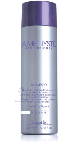FarmaVita AMETHYSTE Silver juuksešampoon 250 ml