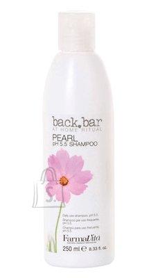 FarmaVita BACK BAR Pearl pH 5.5 juuksešampoon 250 ml