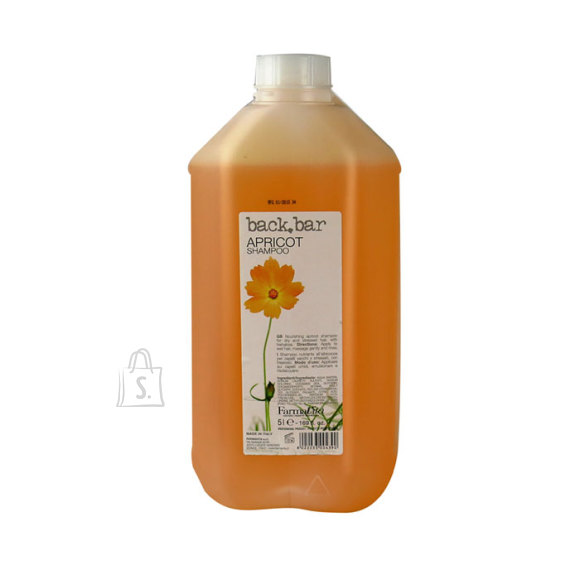 FarmaVita Back Bar Apricot juuksešampoon 5L. Juukseid toitev šampoon.