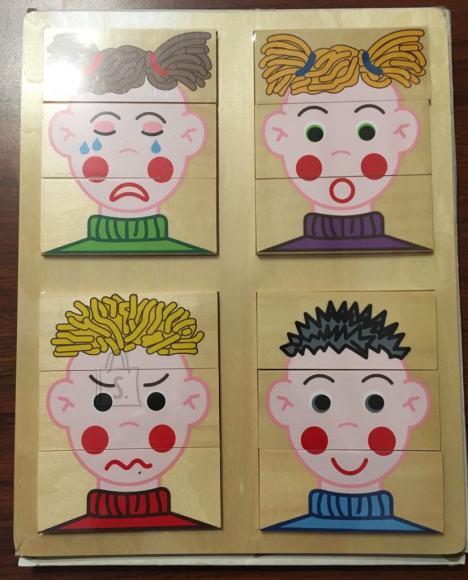 """Mäng """"Emotsioonid. Õpetab lapsi väljendama emotsioone."""