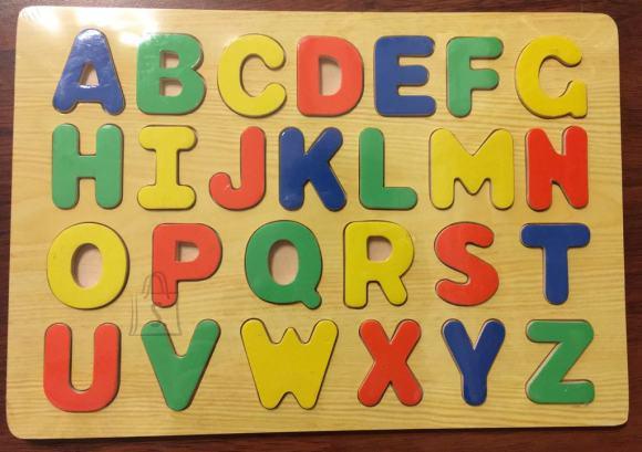 Tähestik. Aitab lastele õppida tähestiku ja värvi.