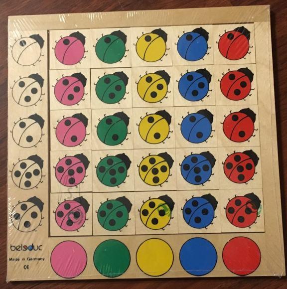 """Mäng """"Lepatriinud"""". Aitab õppida lastel arvutada."""