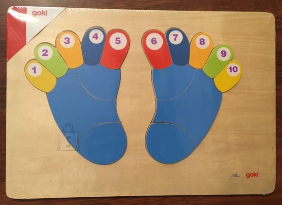 Varbad loetamiseks. Aitab lastel õppida numbreid ja värvi.