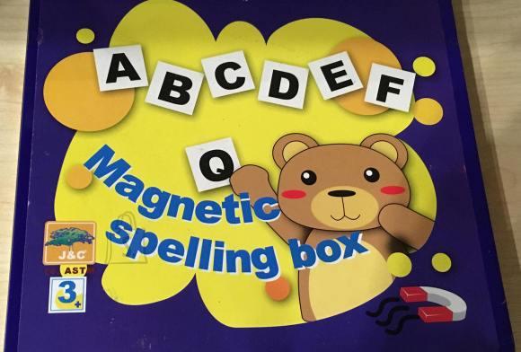 Magnet tähed. Aitavad lastel õppida tähestiku ja inglis keelt.