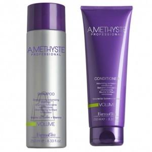 FarmaVita Amethyste komplekt šampoon+mask. Šampoon + mask, mis annavad mahu.