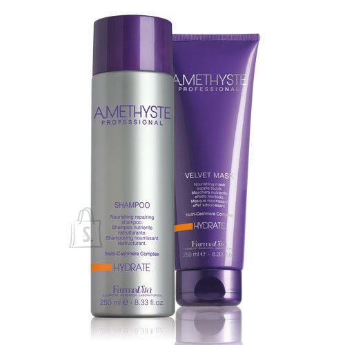 FarmaVita Amethyste komplekt šampoon+mask. Toitev šampoon + mask