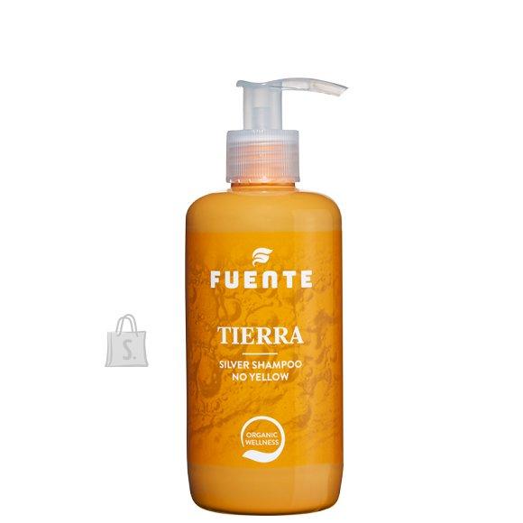 """Fuente FUENTE """"TIERRA"""". Toitev ja neutraliseeriv šampoon heledate ja tuhavate varjundite jaoks 250ml"""