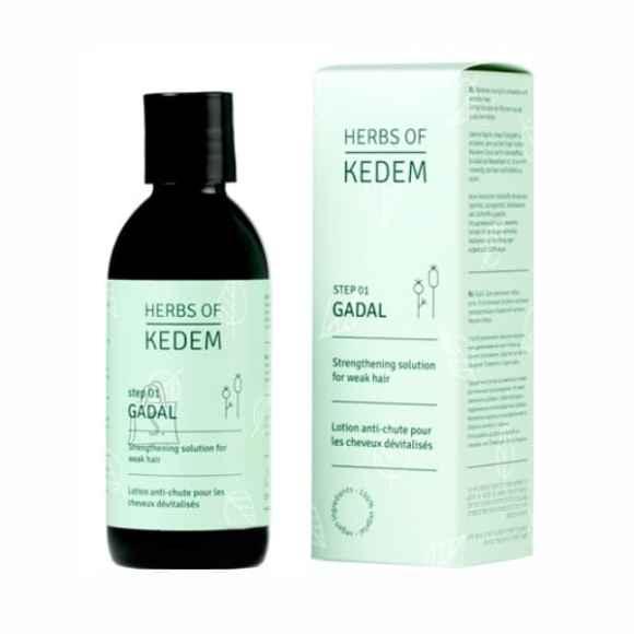 Herbs of Kedem Gadal preparaat juuste väljalangemise vastu ja juuksekasvu taastamiseks 250 ml
