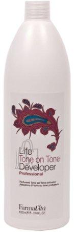 FarmaVita LIFE PROFESSIONAL Oxygen (Cream Developer) vesinikemulsioon Tone on Tone (1,5%) - 1000ml