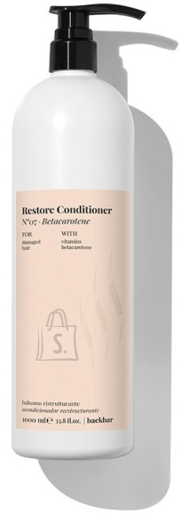 FarmaVita BACK.BAR Restore Conditioner No.7 - taastav palsam kahjustatud juustele betakaroteeniga 1000ml