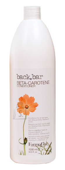 FarmaVita BACK.BAR Beta - Carotene Conditioner - konditsioneer beta karoteeniga 1000ml