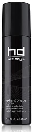 FarmaVita HD - Life Style Extra Strong Gel - Spray - Ekstra tugevalt fikseeriv sprei-geel 220ml