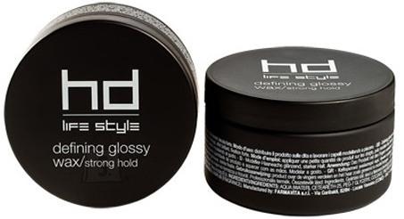 FarmaVita HD - Life Style Defining Glossy Wax, Strong Hold - Tugeva fikseerimisega ja läikega juuksevaha 100ml
