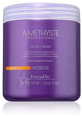 FarmaVita Amethyste Hydrate Velvet Mask - toitev mask kuivadele õrnadele juustele 1000ml