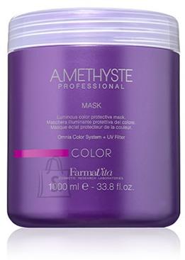 FarmaVita Amethyste Color Mask - Kaitsev mask värvitud juustele 1000ml