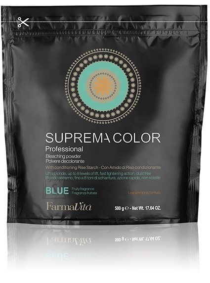 FarmaVita Suprema Color Bleaching Powder Blue - blondeerimispulber sinine 500g