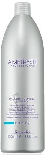 FarmaVita Amethyste Purify Dandruff Control Shampoo - Puhastav ja värskendav šampoon kuiva ja õlise kõõma vastu 1000ml