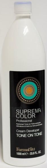 FarmaVita Suprema Color Cream Developer Tone on Tone(1,5%) vesinikemulsioon 1000ml
