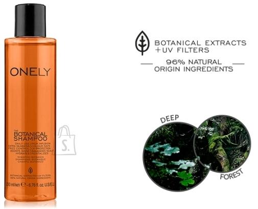 FarmaVita Premium Care Onely the Botanical Shampoo - taimeekstraktidel ja õlidel põhinev šampoon 200ml