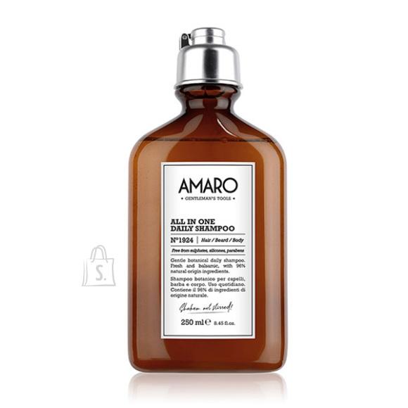 FarmaVita Barber Collection Amaro - Śampoon igapäevaseks kasutamiseks 250ml